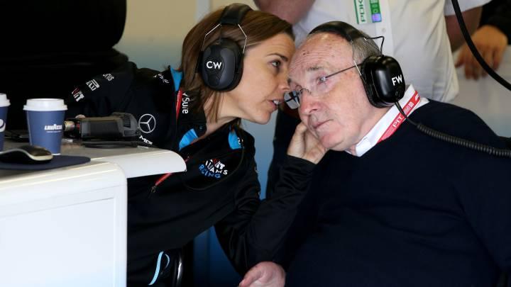 Fórmula 1: Sir Frank y su hija Claire dejan Williams después del GP de Italia