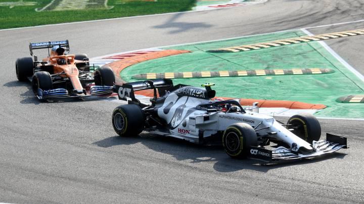 GP de Italia F1 2020: Sainz impecable 2º y Gasly marca un hito