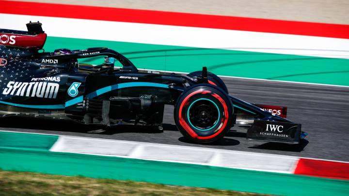 GP de la Toscana Ferrari 1000 F1: Hamilton, Hamilton, Hamilton...