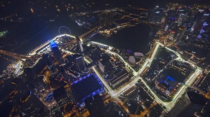 GP de Singapur F1: Horarios y neumáticos