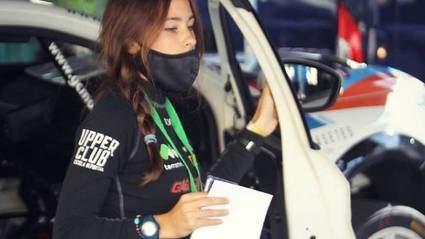 Laura Salvo, copiloto de 21 años, fallece en Portugal