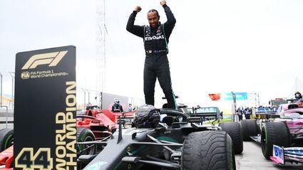 GP de Turquía F1 2020: Hamilton espectacular victoria para su 7º título