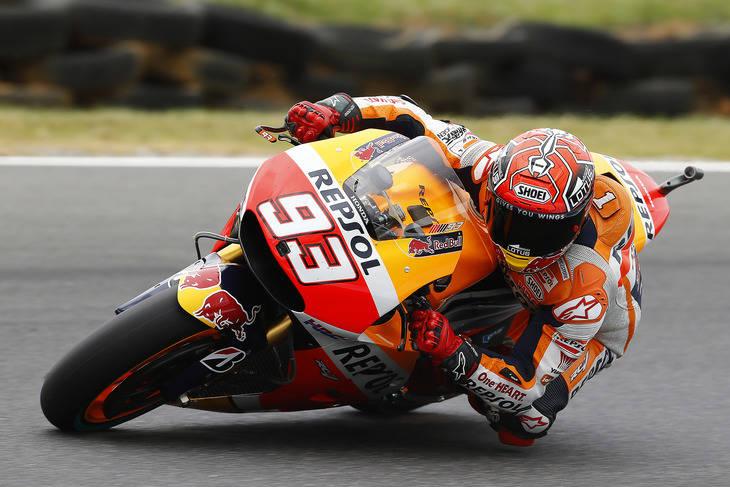 Primeros tiempos libres MotoGP Australia
