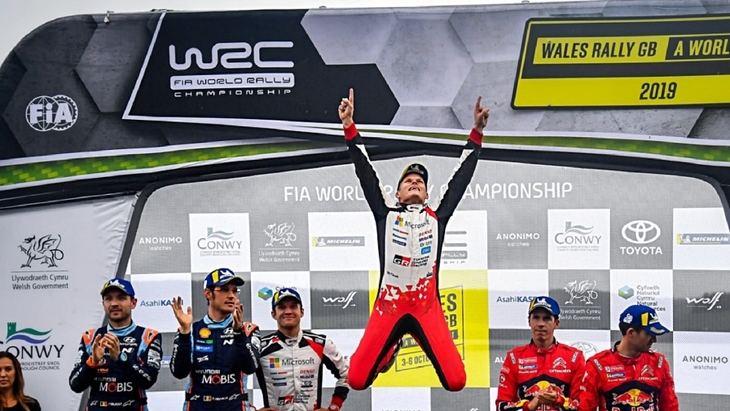 Rallye de Gales 2019: Tanak a tiro del título con su victoria