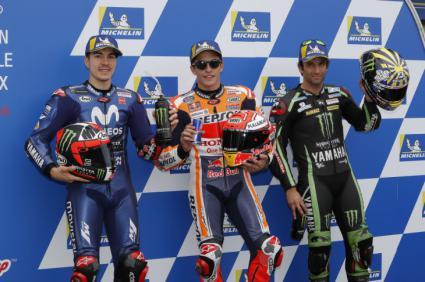 "Márquez (MotoGP) y Jorge Martín (Moto3), ""poles"" en Melbourne"