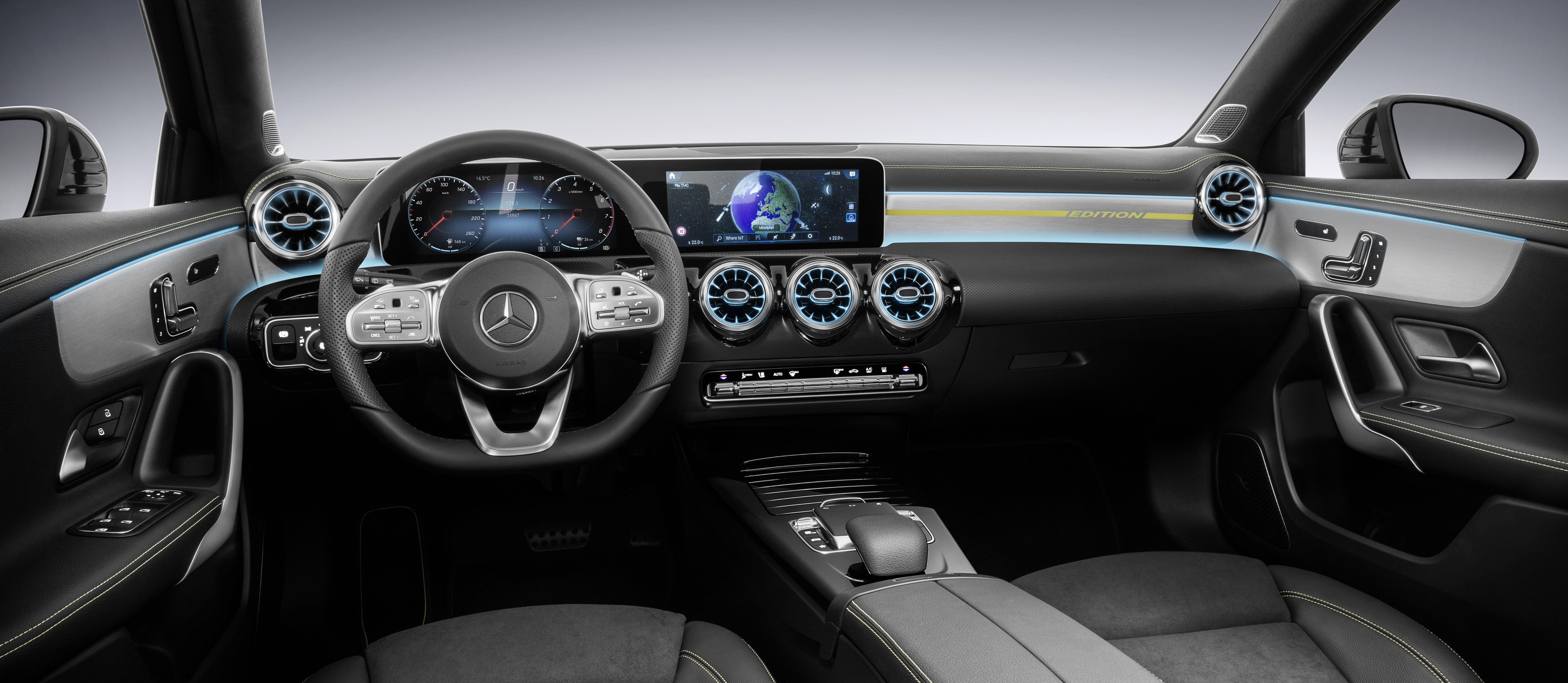 Mercedes Clase A Y Su Nuevo Interior Revista De Coches