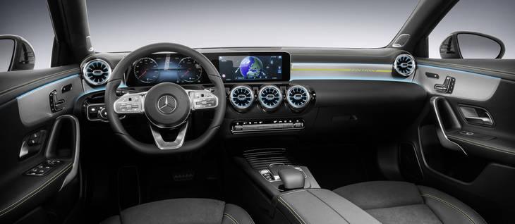 Mercedes clase A y su nuevo interior