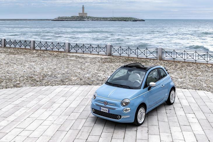 El exclusivo Fiat 500 'Spiaggina 58'