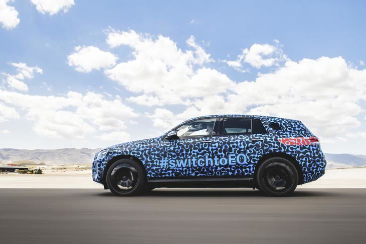 El Mercedes Benz EQC realiza pruebas en España