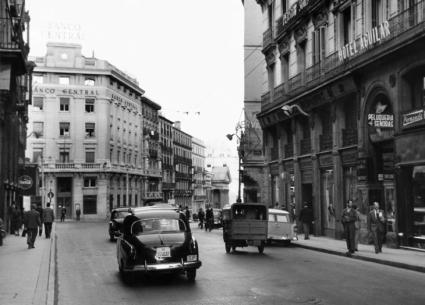 La movilidad madrileña de los 'cincuenta'