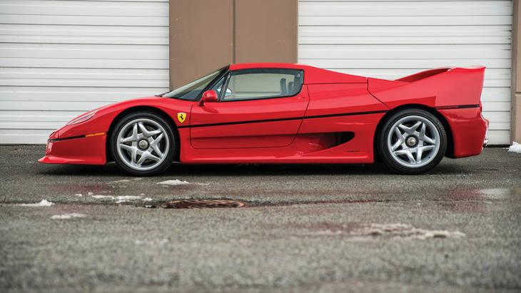 El Ferrari de Mike Tyson adquirido por 2,64 millones de dólares