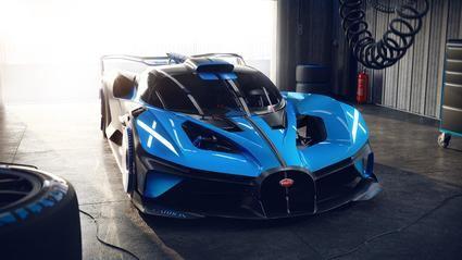 Bugatti Bolide lo más radical de la 'firma francesa'