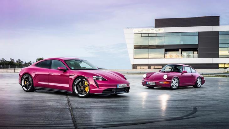 El Porsche Taycan se actualiza