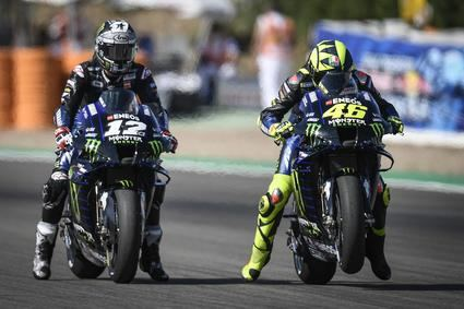Maverick Viñales comienza mandando el Gran Premio de Andalucia