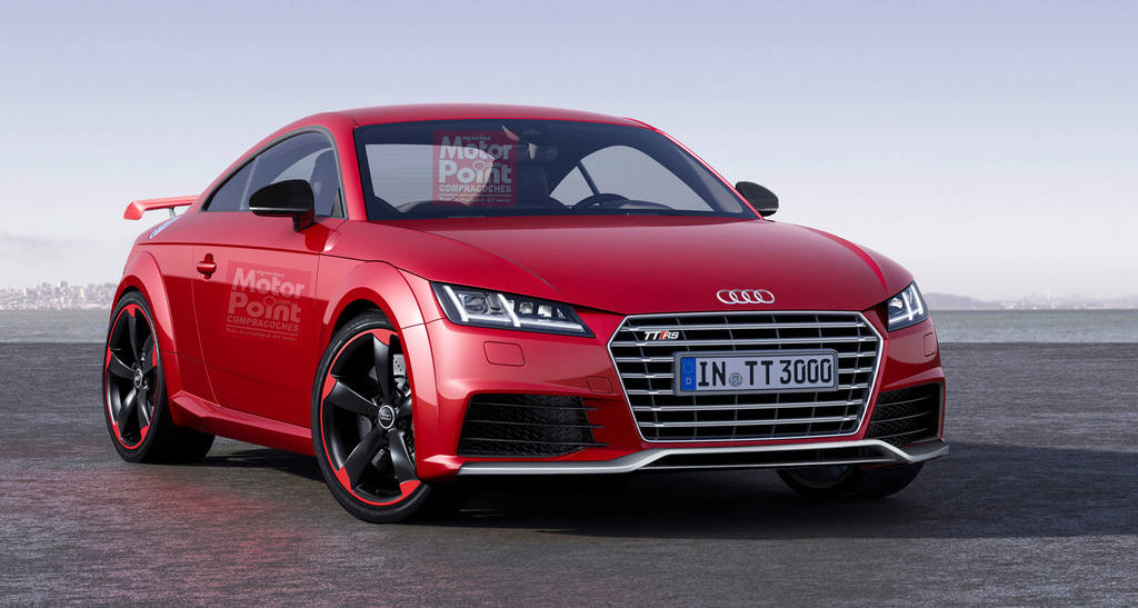 nuevo audi tt rs 2015 revista de coches. Black Bedroom Furniture Sets. Home Design Ideas
