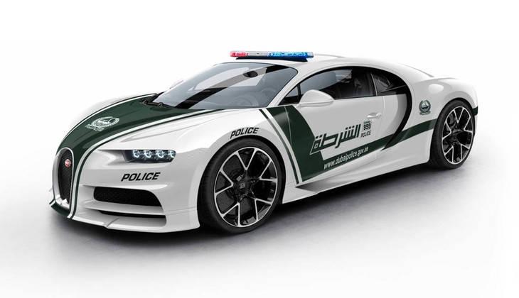 Escapar de la policía de Dubai, todo un reto
