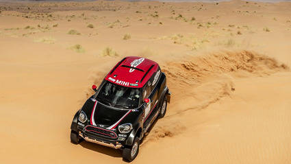 El nuevo Mini JCW Rally
