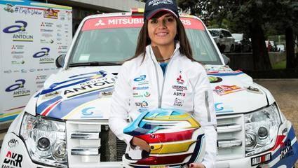 Cristina Gutierrez, con Mitsubishi, aspira a ganar en la categoría TIS