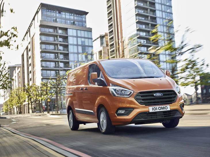Ford Transit Custom con nuevo diseño