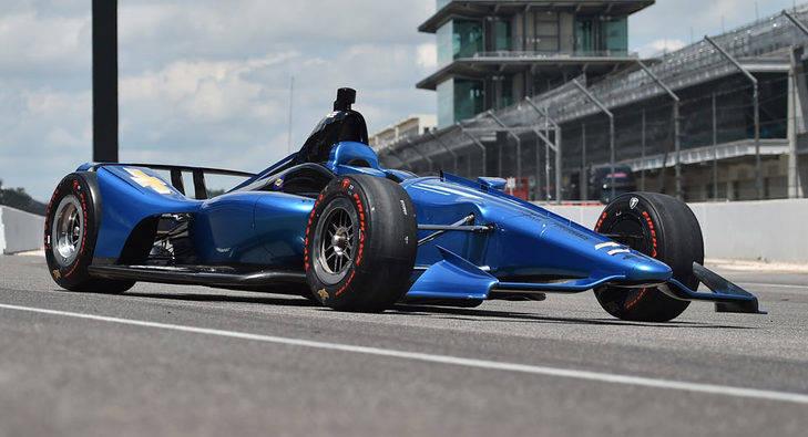 La IndyCar estrena cambios aerodinámicos