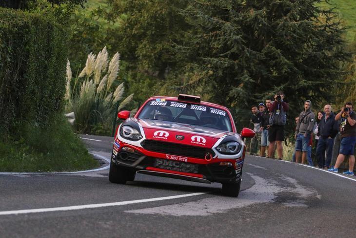 El Abarth 124 Rally campeón de España de dos ruedas motrices (2RM)