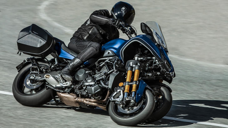 Yamaha Niken GT más equipada y cara