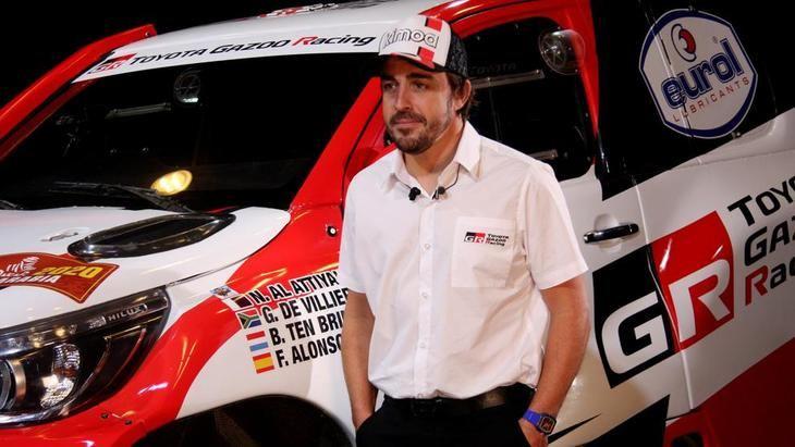 Alonso participará en Dakar 2020 con Marc Coma
