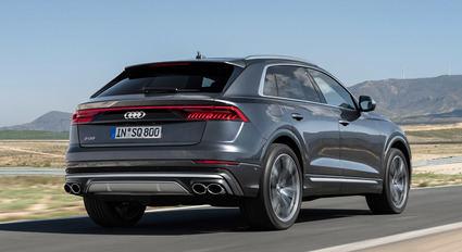 Nuevo Audi SQ8 con motor Diesel.