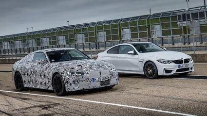 Los nuevos BMW M3 y el M4 Coupé prueban en circuito