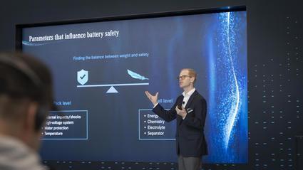 Futuros sistemas de baterías según Mercedes Benz