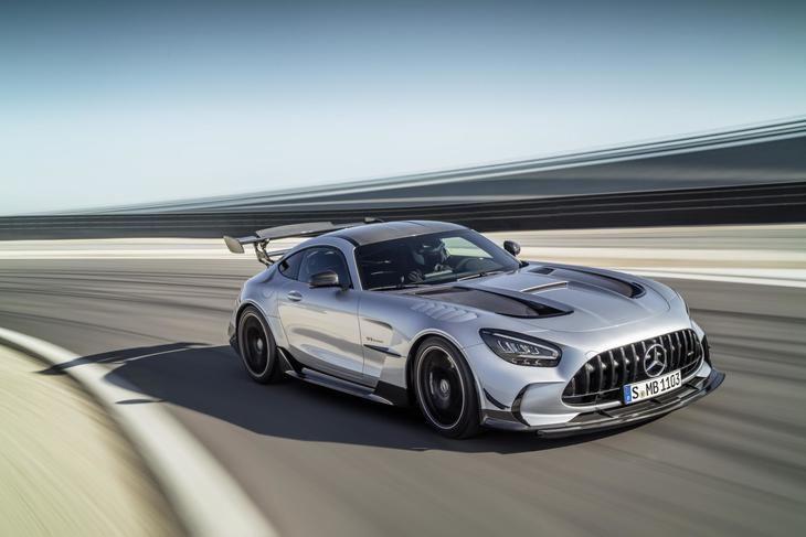Nuevo Mercedes-AMG GT Black Series