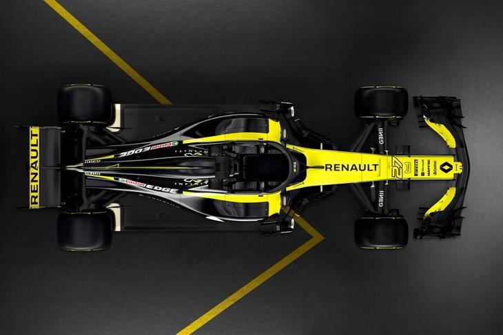 Renault Sport desvela el RS 18 de Carlos Sainz