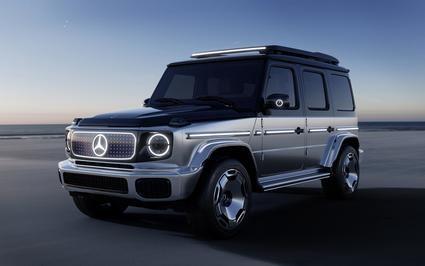Nuevo Mercedes-Benz EQG, la clase G de la marca de la estrella se electrifica