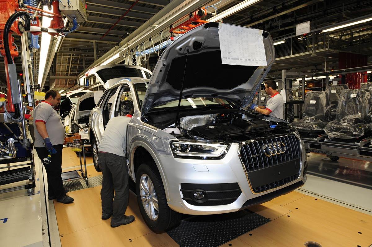 2016 Audi Q5 >> Llamada a revisión de varios modelos de Audi por riesgo de ...