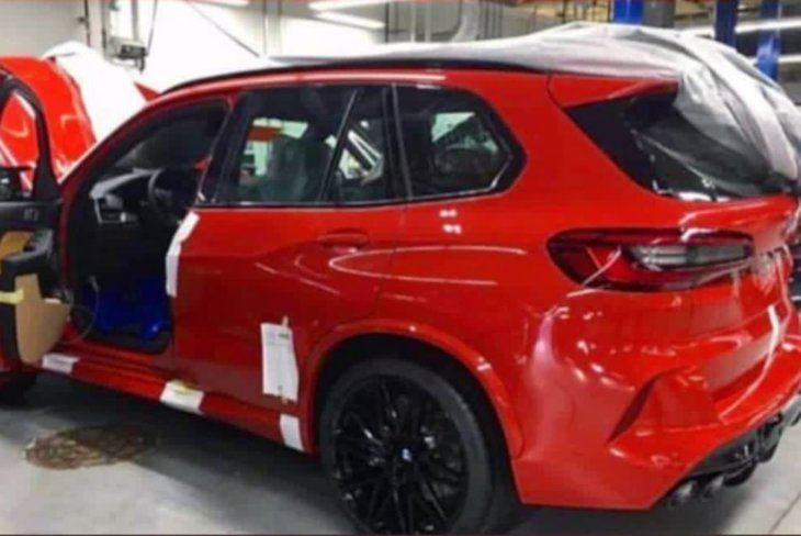 Pillados los SUV más dinámicos de BMW: el X6 M y el X5 M Competition
