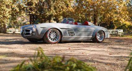 Mercedes 300 SL con motor AMG V6