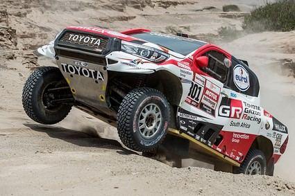 Al Attiyah se afianza en el liderato y Brabec le da el primer triunfo a Honda