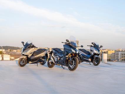 La familia Forza de Honda crece en 2021