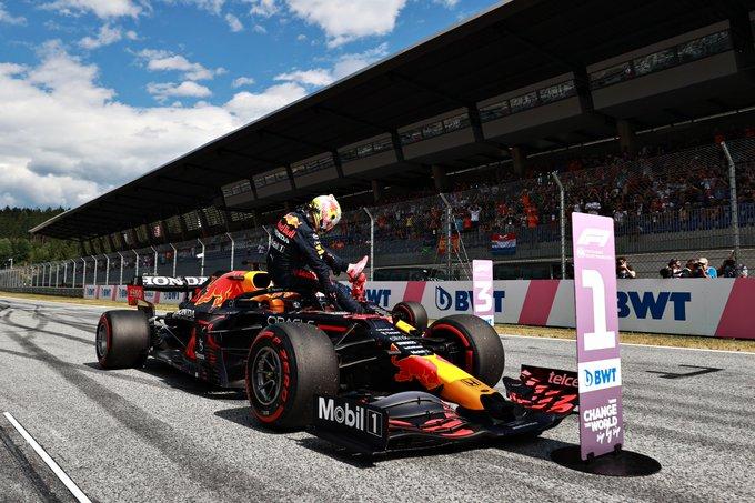 Verstappen supera a un sorprendente Norris y se lleva la pole del GP de Austria