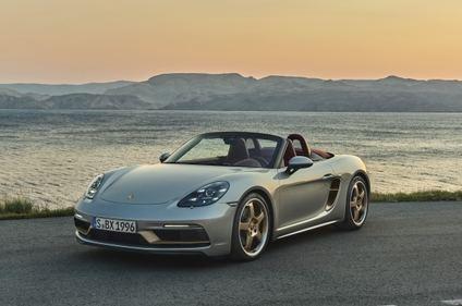 Porsche Boxster 25º Aniversario desde 109.443 euros