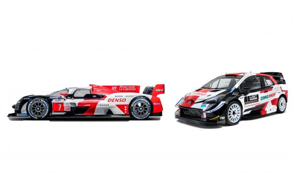 Toyota presenta el Le Mans Hypercar GR010 HYBRID y el Yaris WRC