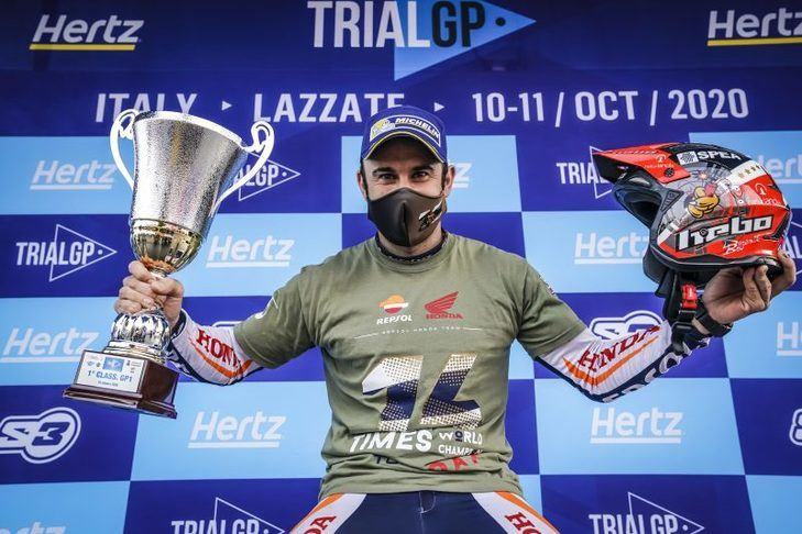 Toni Bou logra su 28º título mundial de Trial en Italia