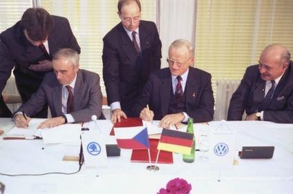 Skoda cumple 30 años ligada a Volkswagen