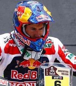 Barreda primero en motos, Sainz segundo en coches