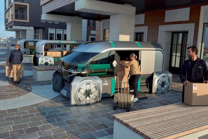 Renault EZ Pro Concept para transportar bienes y mercancías