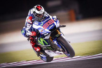 Lorenzo y Rossi mandan en la primera jornada de entrenamientos