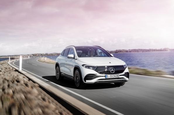 Mercedes EQA a la venta en abril por 49.900 euros