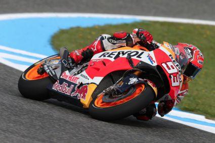 Márquez supera a todos el primer dia en el circuito de Brno