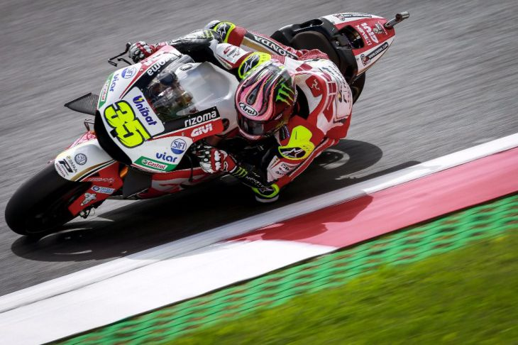 Gran Premio dominado por los britanicos: Crutchlow sorprende en MotoGP