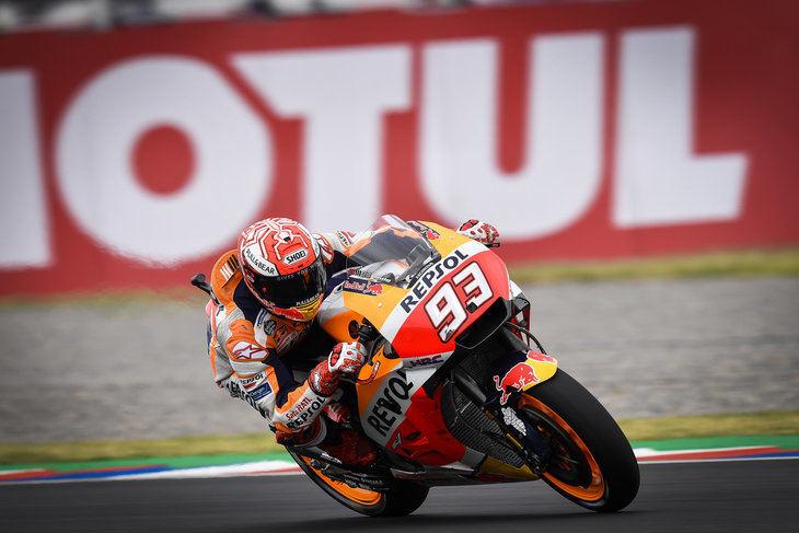 Los hermanos Márquez (Moto2 y MotoGP), los más rapidos en los entrenamientos previos